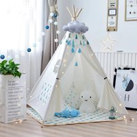 Wholesale baby base for sale - Group buy Environmentally Friendly Healthy Children Tent Game House Baby Toys Indoor Tent Playing Children s Yurt Playing House