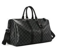 grandes sacos de bagagem de couro venda por atacado-Homens sacos de viagem duffle bagagem de mão designer de viagem saco de mulheres pu bolsas de couro grande corpo cruz saco totes