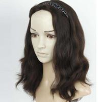 Wholesale ordering wigs resale online - My Queen Silk Base full Lace Human Hair Wigs Jewish Wig Kosher European Virgin Hair Unprocessed for Women Costom order