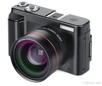 tft digitalkamera lithium großhandel-2019-New Portable Mirrorless Systemkameras 16X Digitalzoom 24MP 3,0-Zoll-TFT-Bildschirm Gesichtserkennung Anti-Shake-HD-WiFI-Kamera