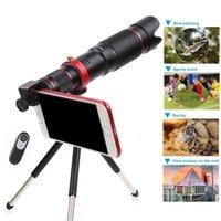 cámara de zoom móvil al por mayor-Teléfono móvil HD 4K 36x Telescopio Cámara Óptica Zoom Lente Celular Teleobjetivo para iPhone Samsung Huawei Smartphone