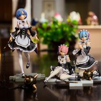 adult action figures بالجملة-Re: Life A Different World from Zero Rem Re zero Action Figure japanese Anime adult Action Figures toys anime figures