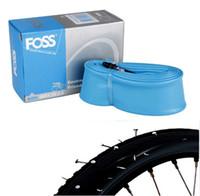 ingrosso pneumatici da moto-FOSS Bike Inner Tubes Road MTB Anti puntura per pneumatici 26 / 27.5 / 29 Spedizione gratuita