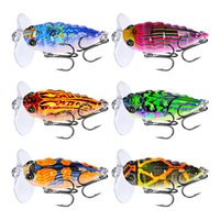 Wholesale cicada lures for sale - Group buy Mixed Color cm g Cicada Hard Baits Lures Hook Fishing Hooks Fishhooks Artificial Bait Pesca Accessories