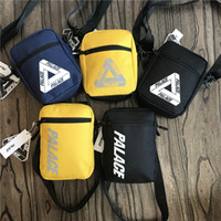 Wholesale triangle backpack for sale - Group buy Designer Fannypacks Palaces Crossbody Waist Bags Triangle Graffiti Unisex Student Flip Messenger Tote Shoulder Bags Belt Sports Duffle C8509
