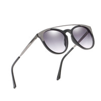 Wholesale black cat eye sunglasses europe resale online - Europe and the United States trend men s and women s sunglasses brand designer cat s eye sunglasses retro men s and women s sunglasses HD
