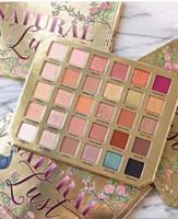 натуральная палитра для теней для макияжа оптовых-Dorp бесплатная доставка! ГОРЯЧИЕ НОВЫЕ Поступления Макияж Палитра Natural Lust EyeShadow Palette Collection 30 Color Eye Shadow Palette!