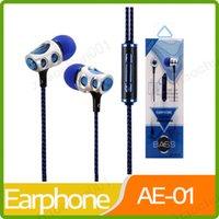 ohrhörer neue ankunft großhandel-Neue Ankunftskopfhöreruniversalität 3.5mm in den Ohrkopfhörern flochten Kopfhörer-Kopfhörerkopfhörer mit mic Ohrhörer für Samsung iPhone HTC huawei