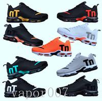 en iyi erkek moda ayakkabıları toptan satış-Nike vapormax vapormax flyknit vapor Tasarımcı moda ayakkabı erkekler kadınlar Dalga Koşucu koşu ayakkabıları Eğitim en kaliteli hava mens chaussures TN ARTı V2 max Bırak plastik
