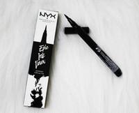 lapices de tinta al por mayor-NYX Epic Ink Liner NYX EYELINER PENCIL Negro NYX Epic Ink Liner Lápiz delineador de ojos con maquillaje en la cara Color negro delineador líquido en Stock