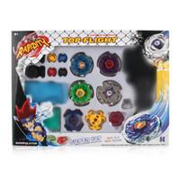 spin meister spielzeug großhandel-Beyblade Fight Master Top Set Spinnerei Metal Fusion 4D Launcher Spielzeug Kinder Geschenk
