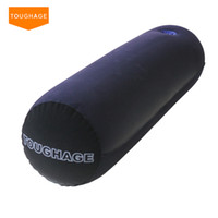Wholesale sex magic cushion resale online - Toughage Positions Bed Magic Hold Pillow with Hole Inflatable Sofa Furnitures Adult Sex Toys C18122801