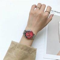 свадебные наручные часы оптовых-Новые поступления Красочные леди часы платье кварца сплава женщина дизайнер часы Желе специальные алмазные Наручные часы для женщин свадебный подарок