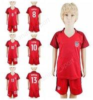ingrosso usa bambini di calcio-2017 Youth Soccer Usa Jersey scherza il vestito 2018 7 DaMarcus Beasley 10 Landon Donovan 18 Bobby Wood 10 Pulisic bambini magliette da calcio Camicia