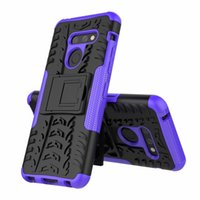 Wholesale lg stylo wallet case for sale – best Dazze Hybrid KickStand Impact Rugged Heavy Duty TPU PC Shock Proof case Cover FOR LG G8 V40 V50 K40 Stylo LT