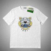 ingrosso magliette a righe per gli uomini-KENZO T shirt design di lusso Mens righe di stampa della lettera T shirt Uomo Donna Designer shirt manica corta Tees il formato S-XXL # 75159