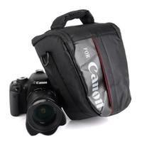camaras 6d al por mayor-Estuche de la bolsa de la cámara para Canon EOS 1300D 1200D 1100D 750D 800D 60D 77D 70D 5D 6D 7D 100D 760D 700D 600D 650D T7