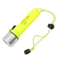 luz de flash de buceo bajo el agua al por mayor-2000LM Q5 LED impermeable Buceador Buceador Linterna submarina Flash Luz Antorcha