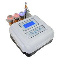 mesotherapie freie nadeln schönheit maschine großhandel-4in1 nadelfrei Mesotherapie Mesotherapie Photon Ultraschall Hautverjüngung Maschine Anti-Falten-Beauty-Gerät Desktop-Design