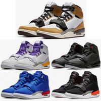 saltar sapatos venda por atacado-NIKE AIR JORDAN Legacy 312 Mens Sapatos de Basquete Knicks Lakers Pistons Esporte Atlético Tênis Saltar Homem Designers Formadores Tamanho 7-11