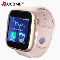 erkekler için android akıllı saatler toptan satış-Yeni Z6 Kadın Erkek Akıllı İzle Sim Kart Spor Bluetooth IOS Android İzle Telefon Saatler Kamera Müzik çalar Twitter WhatsApp Smartwatch Çocuklar
