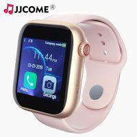 женщины смотрят музыку оптовых-Новый Z6 Женщины Мужчины Смарт-Часы Сим-Карты Фитнес Bluetooth IOS Android Часы Телефон Часы Камера Музыкальный плеер Twitter WhatsApp Smartwatch Дети