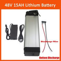 Wholesale Rechargeable W V Electric Bike Lithium Battery V AH silver fish battery with V A charger and BMS Bottom discharge