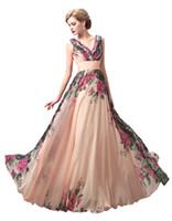 vestidos de festa de champanhe turquesa venda por atacado-Vestidos para buquês Festa de noite Champagne pavão turquesa Floral Vestidos de baile sob 100 Vestidos para ocasiões especiais para mulheres Imagem real