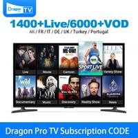 india android phone großhandel-IPTV Abonnement HD Frankreich Arabisch Voll Europa Indien Afrika Kanäle iptv Konto für Smart TV Android Box Telefone Mag Box Abonnement IPTV