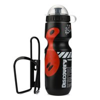 Wholesale cycling kits for sale - Group buy 650ML Outdoor Water Bottle Holder Cage Rack Mountain Cycling Bike Bicycle Kit Portable for Summer Riding Bike Accessories P40