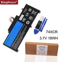 Wholesale laptop mah for sale - Group buy KingSener V WH XCR Laptop Battery XCR For Dell Venue Pro GB T01D Tablet Free Year Warranty