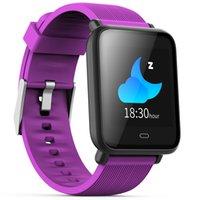 спортивные наручные часы оптовых-Smart Watch Красочный Экран Монитор Сердечного ритма Сна IP67 Водонепроницаемый Спорт Мужчины Женщины Smartwatch Для Android и IOS