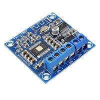 módulos amplificadores de audio al por mayor-AIYIMA Bluetooth 4.2 Tarjeta de Amplificador de Potencia TPA3116D2 Módulo Amplificador de Audio Digital AMP 2.0 Canal Estéreo 50W * 2 DC12-24V