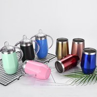 Wholesale cars feeding online - Baby Bottles Diamond Shaped Sippy Cups Stainless Steel Vacuum Insulated Milk Bottles Newborn Feeding Bottle Car Cups Colors CCA11761
