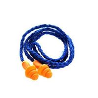 nadar tapones para los oídos al por mayor-Gel de sílice Tapones para los oídos Natación Tapón para el oído A prueba de agua Tipo de árbol de navidad Línea de cinta Prevención de ruido Aislamiento de sonido Sueño impermeable 0 4lhf1