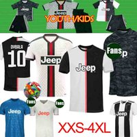 Wholesale xxl thai soccer resale online - Thai RONALDO JUVENTUS Soccer Jersey18 JUVE kids women Home away DE LIGT DYBALA HIGUAIN Camisetas Futbol Camisas Maillot Football Shirt