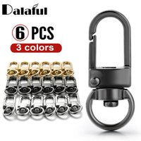 Wholesale diy collar for dogs resale online - 6 Keychain DIY Accessories Dog Collar Buckles Swivel Trigger Clip Connector For Bag Clasp High Quality Key Ring DIY P024