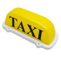 señales de techo del coche al por mayor-12V Taxi Car Dome Light Car Taxi Meter Cabina Topper Roof Signo Lámpara Lámpara Bulbo Base Magnética