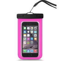 bolsas de blackberry envío gratis al por mayor-Funda impermeable universal para teléfono bajo el agua Brazalete Bolsa seca Bolsa para teléfonos inteligentes Pedidos a granel Envío gratis