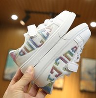 Wholesale baby boys size shoes resale online - New Boys Girls Shoes Sneakers Children School Sport Trainers Baby Toddler Kid Casual Skate Stylish Designer Running Shoes EU Size