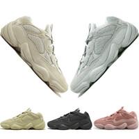 Wholesale kanye moon boots online - Kanye West Desert Rat Blush s Salt Super Moon Yellow Utility Black mens running shoes for men women sports sneakers designer US
