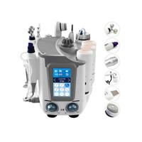 máquina de burbujas envío gratis al por mayor-7 en 1 uso de spa dermabrasion aqua piel piel facial con oxígeno limpieza profunda pequeña burbuja máquina de dermoabrasión demandar DHL Envío Gratis