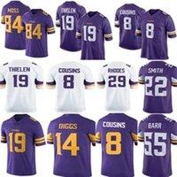 19 Adam Thielen Minnesota Jersey Vikings 8 Kirk Cousins 14 Stefon Diggs 22  Harrison Smith 33 Dalvin Cook 21 Barr 84 Randy Moss new Rhodes 5cd1f2595