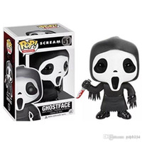 Wholesale ghost toys resale online - Nicegift Best Best Funko Pop Scream Ghost Face Vinyl Action Figure With Box Gift FOR KIDS Toy Good Quality