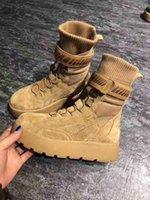 botas de venda bordadas venda por atacado-Hot Sale-MAIS NOVOS Ankle Boots Designer de Luxo Branded Women Aftergame Sneaker Plano Lady bordado tecido stretch sola de borracha n0720 encaixotadas