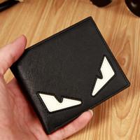 couronne de portefeuille en cuir achat en gros de-Portefeuilles pour hommes porte-monnaie stylé en cuir PU Porte-monnaie stylisé de haute qualité pour homme