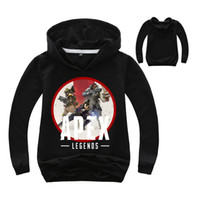 Wholesale costumes for teenagers for sale - Apex Legends Printed Sweatshirts for Boys Girls Hoodies Costume Children Long Sleeve Shirts Kids Tops Teenager Casual Coat Jackets Hoody