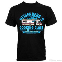 Wholesale class printing for sale - Group buy 2018 Short Sleeve Cotton T Shirts Man Clothing Heisenberg s Cooking Class Men s Black T Shirt100 Cotton Print Mens Summer O Nec