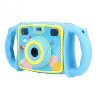 объектив для игрушечной камеры оптовых-KOOOL 2 дюйма 720P двойной линзы HD портативный цифровой фотоаппарат видеокамера детская игрушка в подарок профессиональный