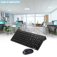 французская французская клавиатура bluetooth оптовых-Wireless Keyboard & Optical Mouse Combo Set Kit with USB Receiver Gaming Mouse Keyboard Spanish Italian French three languages